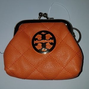 Tory Burch coin wallet Orange